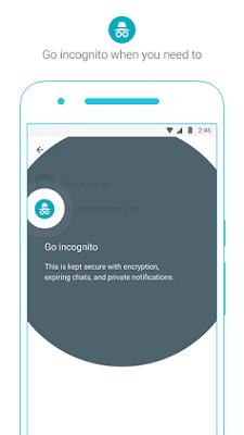 Google Allo Incognito Mode