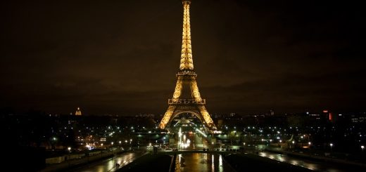 Eiffel Tower tourist destination facts