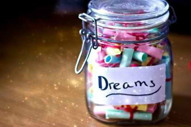 DIY room decor ideas - DIY Jar of Dreams