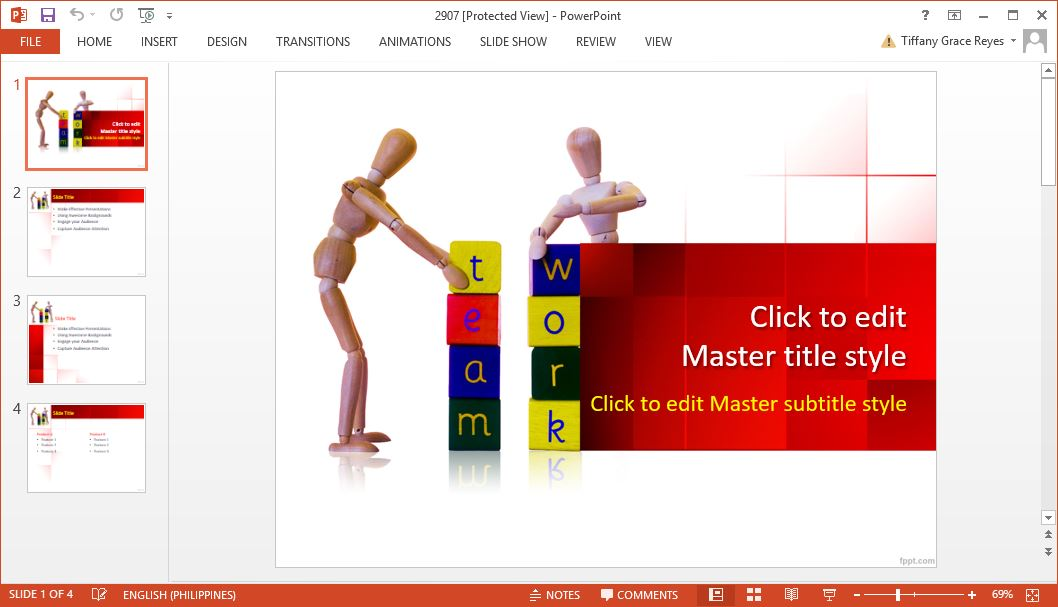 how to create powerpoint templates